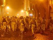 أعمال عنف فى بيروت بين المتظاهرين وقوات الأمن