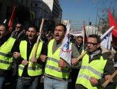إضراب موظفى الخدمة المدنية