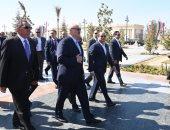 الرئيس عبد الفتاح السيسي ونظيره البيلاروسي في العاصمة الإدارية الجديدة