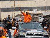 جانب من الحملة الانتخابية لمرشح المعارضة بتوجو