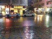 هطول أمطار خفيفة على مطروح