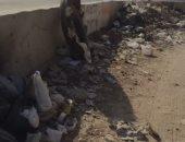 انتشار القمامة بمنطقة البارون سيتي