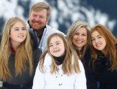 ملك هولندا وعائلته