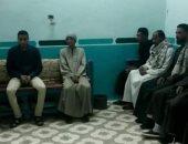عزاء أهالى الكرنك على روح مبارك