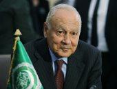 أحمد أبو الغيط الأمين العام للجمامعة العربية