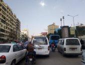 الحالة المرورية في القاهرة والجيزة- أرشيفية