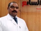 مصطفي محمدى مدير مركز التطعيمات بالمصل واللقاح