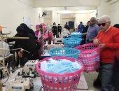 ضبط مصنع للكمامات المغشوشة بالقاهرة