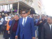 حملة مكبرة لإزالة اشغالات سوق قرى النهضة غربا