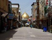 أحد شوارع النجف العراقية