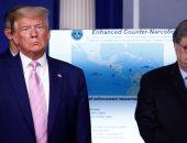 دونالد ترامب الرئيس الأمريكى فى المؤتمر الصحفى