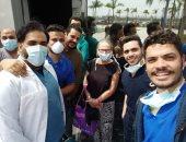 خروج 9 حالات من مستشفى أبو خليفة  بالإسماعيلية