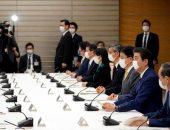اجتماع رئيس الوزراء الياباني شينزو آبي