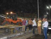 سكرتير محافظة الأقصر يتابع التعقيم للمنشآت ليلاً ومصادرة 26 عربة خضار