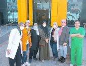 فريق عمل مستشفى العجمى بالإسكندرية