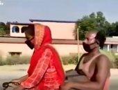 الفتاه الهنديه ووالدها