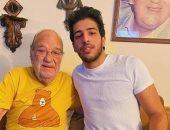 حسن حسنى وحفيد محمود ياسين