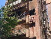 حريق شقة - الحماية المدنية - أرشيفية