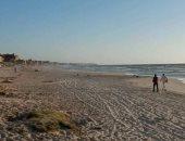اخلاء شاطىء البيطاش لوجود تجمعات