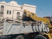إخلاء سوق عشوائى بالسيدة زينب