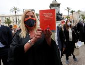 تظاهرات للمحامون