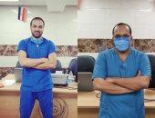 الطبيبان أحمد سعد ومحمد منتصر