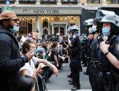 الاحتجاجات الامريكية