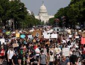 مظاهرات فى محيط البيت الأبيض