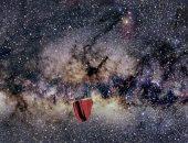 توهج أحمر فى مركز المجرة
