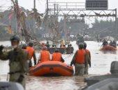 فيضانات اليابان
