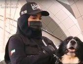 """استخدام الكلاب البوليسية فى الكشف عن مصابى """"كورونا"""""""