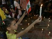 أطفال فلسطين يتضامنون مع ضحايا انفجار بيروت