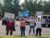 مظاهرات مؤيدة لقرار عودة المدارس