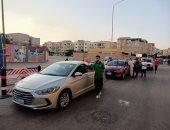 زفة سيارات في شوارع زايد
