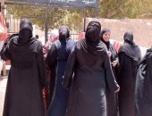 إقبال لسيدات قرى أسوان على اللجان