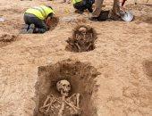 القبور المكتشفة