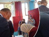 وزير الخارجية يدلى بصوته بالقاهرة الجديدة