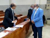 اللواء محمد إبراهيم وزير الداخلية الأسبق يدلي بصوته
