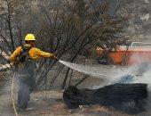 حريق الغابات في أمريكا