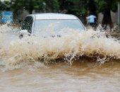 أمطار غزيرة وسيول _ صورة أرشيفية