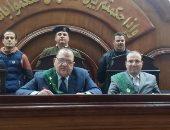 المستشار إبراهيم عبد الحى رئيس محكمة جنايات الزقازيق