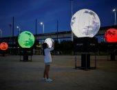 الأقمار الصناعية المثبتة فى كوريا