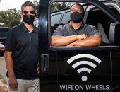 مركبات الإنترنت فى كاليفورنيا