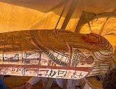 اكتشاف 27 تابوتًا مدفونًا منذ 2500 عام