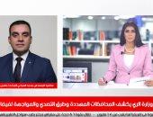 المهندس محمد السباعى، المتحدث باسم وزارة الموارد المائية والرى