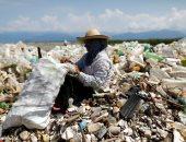 القمامة على شواطئ جواتيمالا