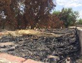 انتشار القمامة والحرائق داخل مقابر الإسماعيلية