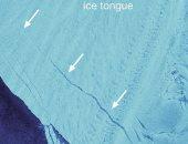 أنهار انتاركتيكا تنهار