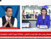شادى محمد لاعب النادى الأهلى السابق خلال لقائه بتليفزيون اليوم السابع