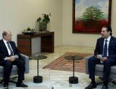 رئيس لبنان ورئيس الوزراء المكلف